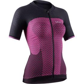 UYN Biking Alpha OW Blouse korte mouwen Dames, slush/charcoal